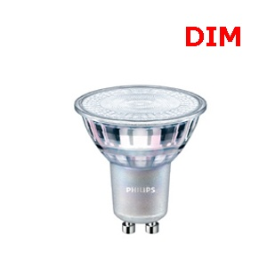 หลอดLED PHILIPS GU10 220V 5W 3000K Dimmable